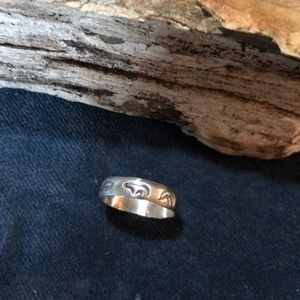 Jewelry - Native American Fetish Ring in Sterling Silver